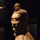 terracotta warrior from the first emperor's underground army