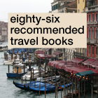 86 recommended travel books
